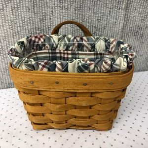 Longaberger Ambrosia basket with liner and insert